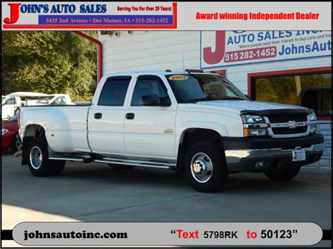 2003 Chevrolet Silverado 3500 for sale in Des Moines, IA