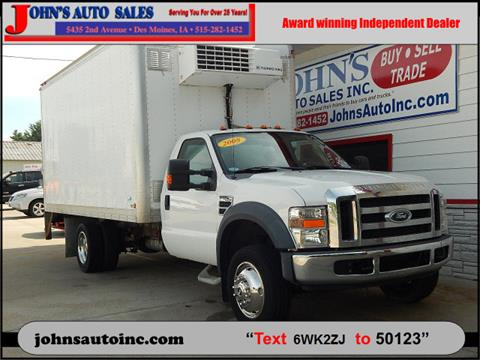 2008 Ford F-450 Super Duty for sale in Des Moines, IA
