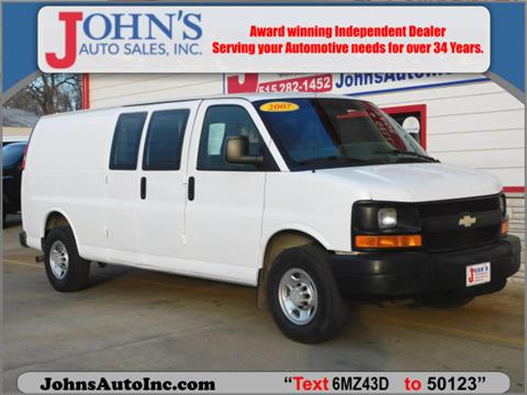 2007 Chevrolet Express Cargo for sale in Des Moines, IA