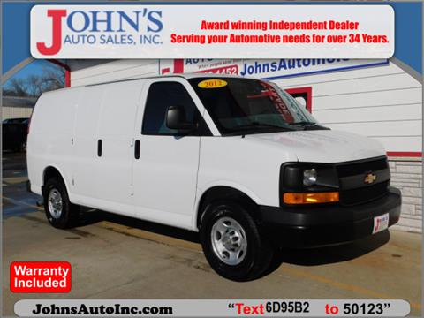 2012 Chevrolet Express Cargo for sale in Des Moines, IA