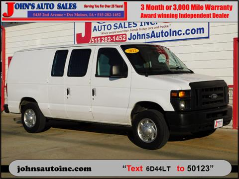 2012 Ford E-Series Cargo for sale in Des Moines, IA