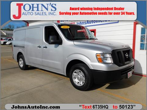 2014 Nissan NV Cargo for sale in Des Moines, IA