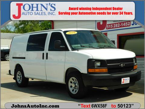 2010 Chevrolet Express Cargo for sale in Des Moines, IA