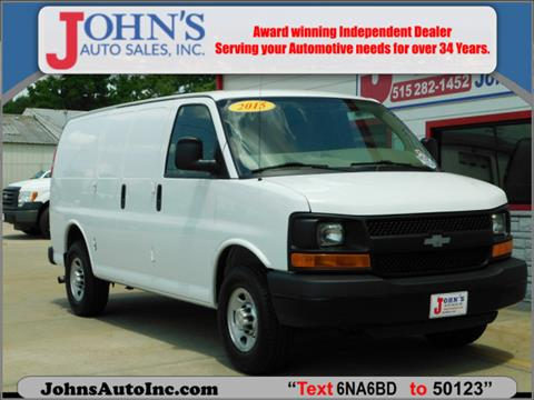 2015 Chevrolet Express Cargo for sale in Des Moines, IA