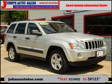 2006 Jeep Grand Cherokee for sale in Des Moines, IA