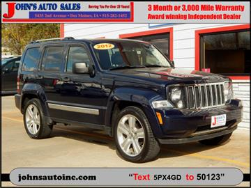 2012 Jeep Liberty for sale in Des Moines, IA