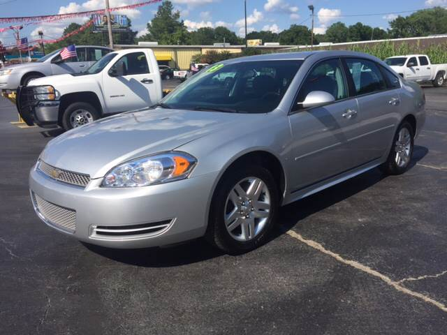 2013 Chevrolet Impala LT Fleet 4dr Sedan   Memphis TN