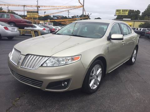 2010 Lincoln MKS for sale in Memphis, TN