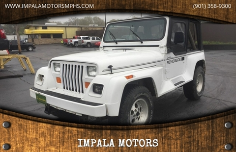 1991 Jeep Wrangler for sale in Memphis, TN