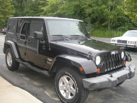 2007 Jeep Wrangler Unlimited for sale at Elite Auto Sales in North Dartmouth MA