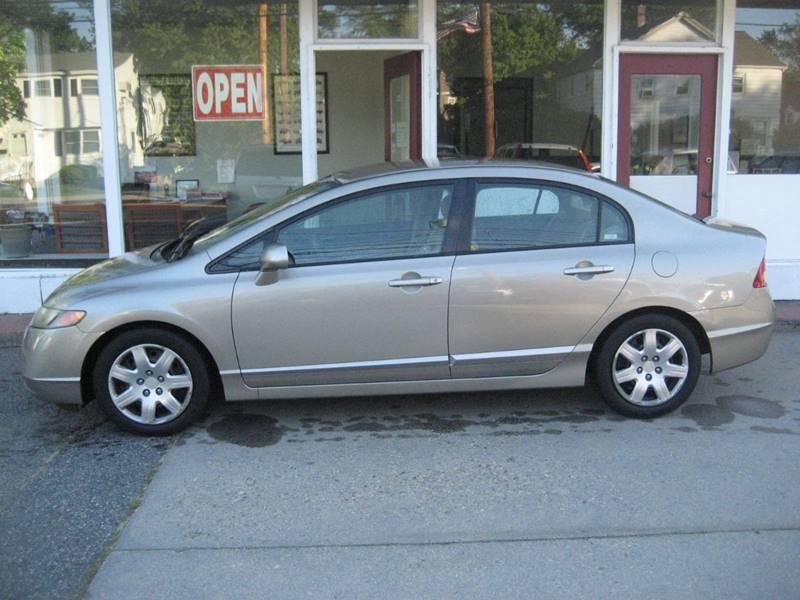 2006 Honda Civic LX 4dr Sedan W/automatic   Framingham MA