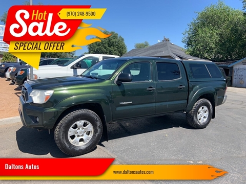 Toyota Grand Junction >> Toyota Tacoma For Sale In Grand Junction Co Daltons Autos