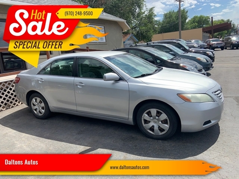 Toyota Grand Junction >> Toyota Camry For Sale In Grand Junction Co Daltons Autos