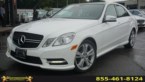 2013 Mercedes-Benz E-Class for sale in Lodi, NJ