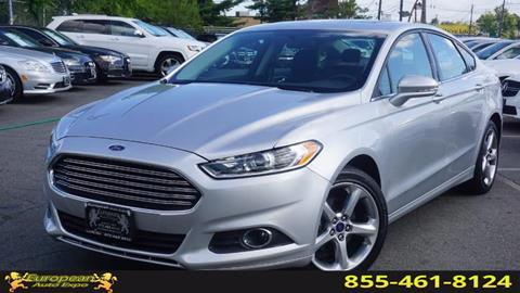 2014 Ford Fusion for sale in Lodi, NJ