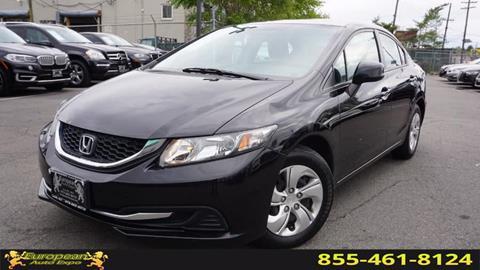2013 Honda Civic for sale in Lodi, NJ