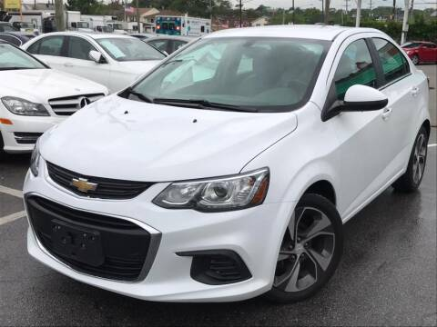 2017 Chevrolet Sonic Premier Auto for sale at EUROPEAN AUTO EXPO in Lodi NJ
