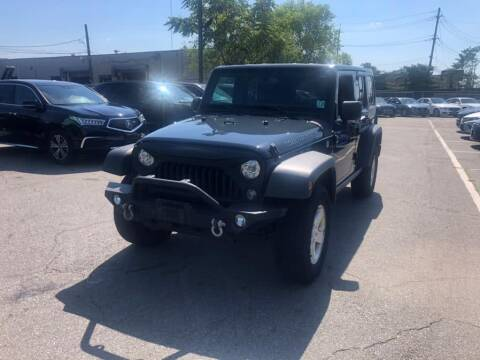 2017 Jeep Wrangler Unlimited for sale at EUROPEAN AUTO EXPO in Lodi NJ
