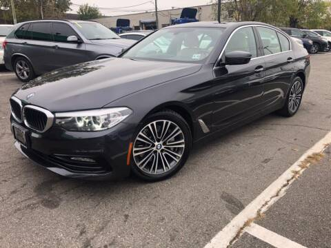 2017 BMW 5 Series for sale at EUROPEAN AUTO EXPO in Lodi NJ