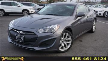 2013 Hyundai Genesis Coupe for sale in Lodi, NJ
