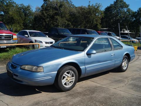 1997 Ford Thunderbird For Sale In Richwood TX