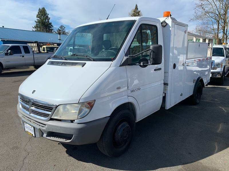 2006 Dodge Sprinter Cab Chassis for sale at South Commercial Auto Sales in Salem OR