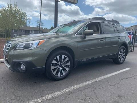 2015 Subaru Outback for sale at South Commercial Auto Sales in Salem OR