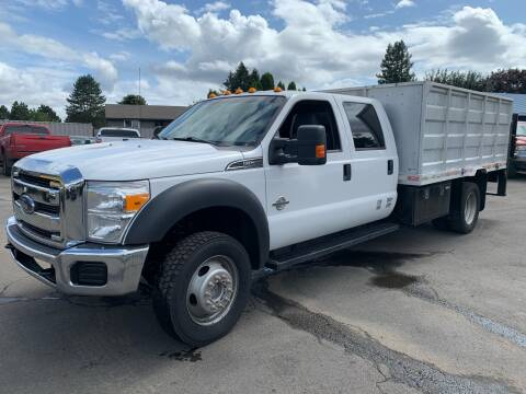 2016 Ford F-550 Super Duty for sale at South Commercial Auto Sales in Salem OR