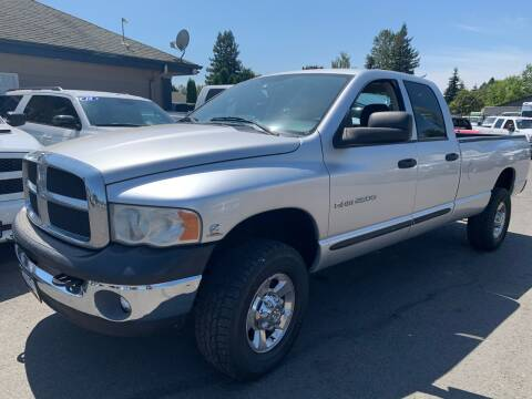 2005 Dodge Ram Pickup 2500 for sale at South Commercial Auto Sales in Salem OR