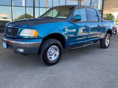 2001 Ford F-150 for sale at South Commercial Auto Sales in Salem OR