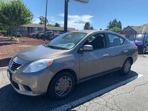 2014 Nissan Versa for sale at South Commercial Auto Sales in Salem OR