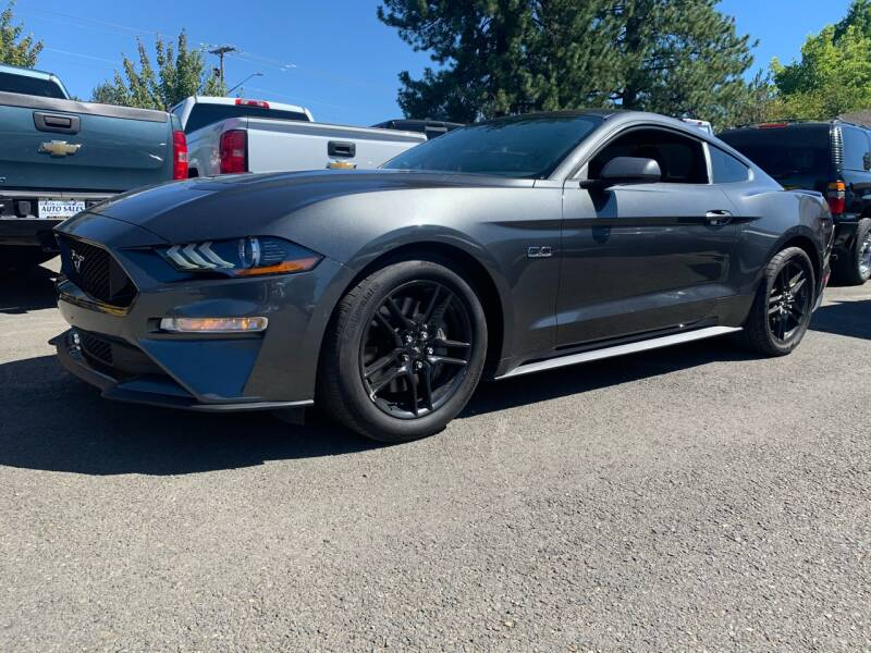2018 Ford Mustang for sale at South Commercial Auto Sales in Salem OR