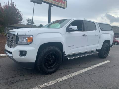 2019 GMC Canyon for sale at South Commercial Auto Sales in Salem OR