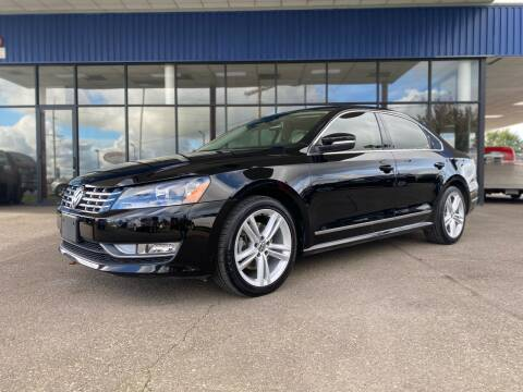 2013 Volkswagen Passat for sale at South Commercial Auto Sales in Salem OR