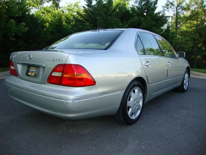 2002 Lexus LS 430 4dr Sedan - Chantilly VA