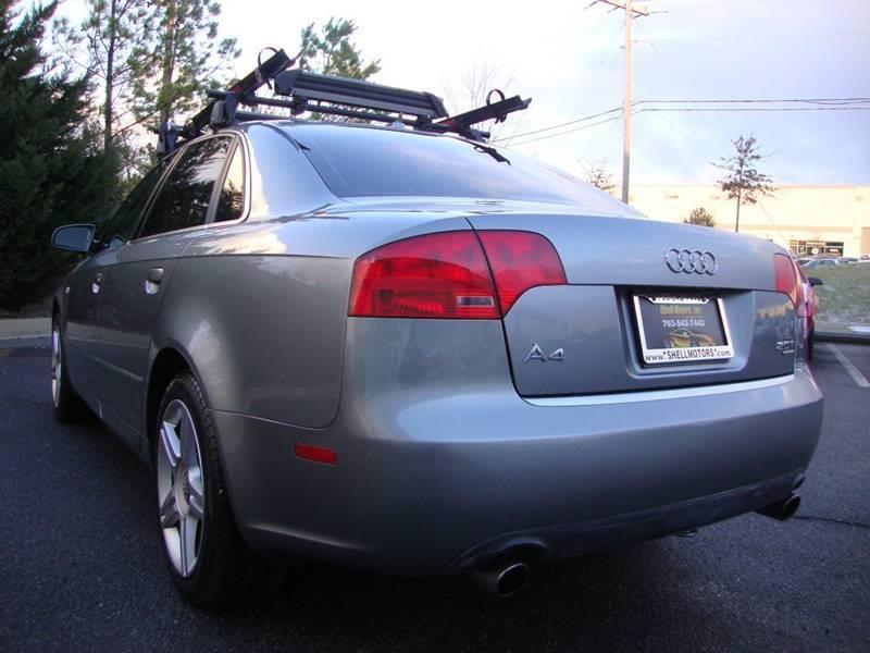 2007 Audi A4 AWD 2.0T quattro 4dr Sedan (2L I4 6A) - Chantilly VA