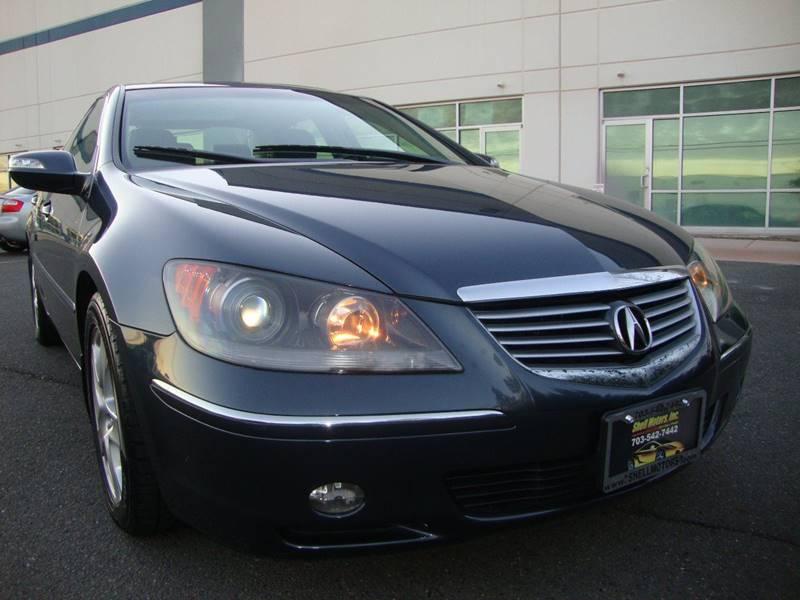 2008 acura rl sh awd 4dr sedan w technology package in chantilly va