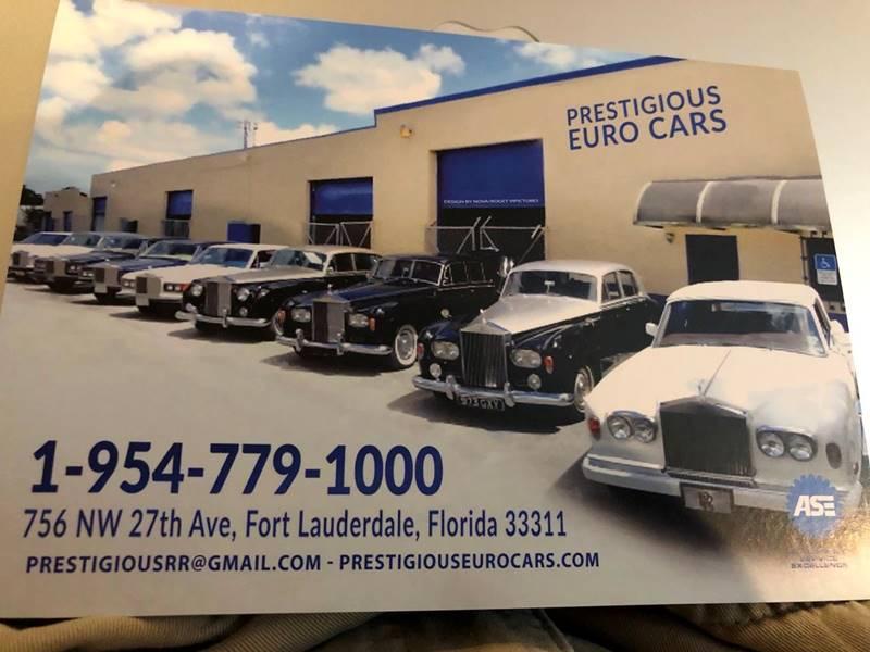 1962 Rolls-Royce SILVER CLOUD II CONVERTIBLE  - Fort Lauderdale FL