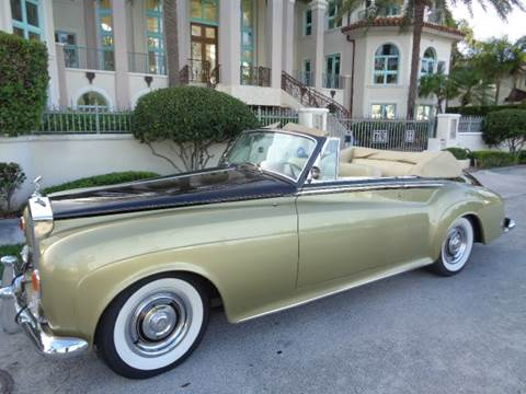1963 Rolls-Royce Silver Cloud 3