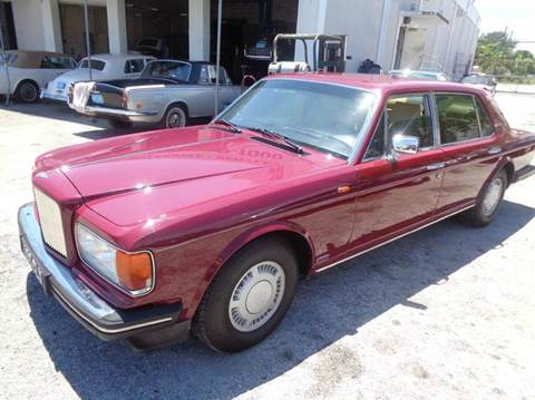 1987 Bentley Turbo R for sale at Prestigious Euro Cars in Fort Lauderdale FL