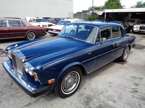 1975 Rolls-Royce Silver Shadow for sale at Prestigious Euro Cars in Fort Lauderdale FL