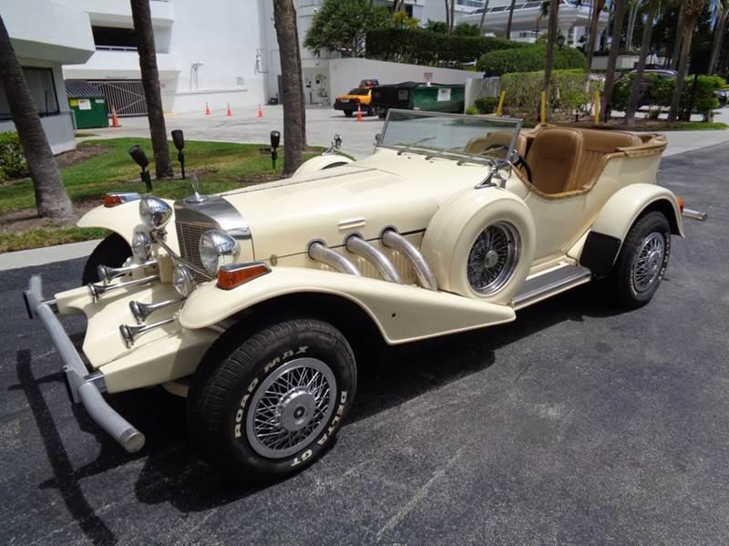 1975 Excalibur Phaeton Series Iii In Fort Lauderdale Fl