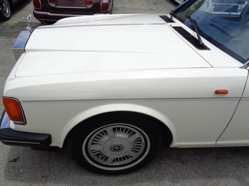 1991 Rolls Royce Silver Spur In Fort Lauderdale Fl Prestigious