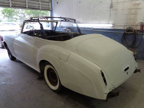 1965 Rolls-Royce SILVER CLOUD III CONVERTIBLE for sale at Prestigious Euro Cars in Fort Lauderdale FL