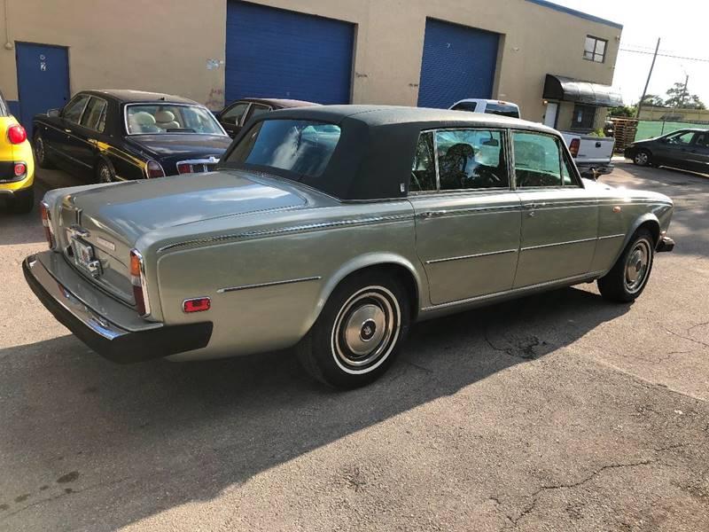 1978 Rolls Royce Silver Shadow Rare In Fort Lauderdale Fl