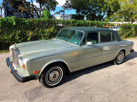 1978 Rolls-Royce Silver Shadow for sale at Prestigious Euro Cars in Fort Lauderdale FL