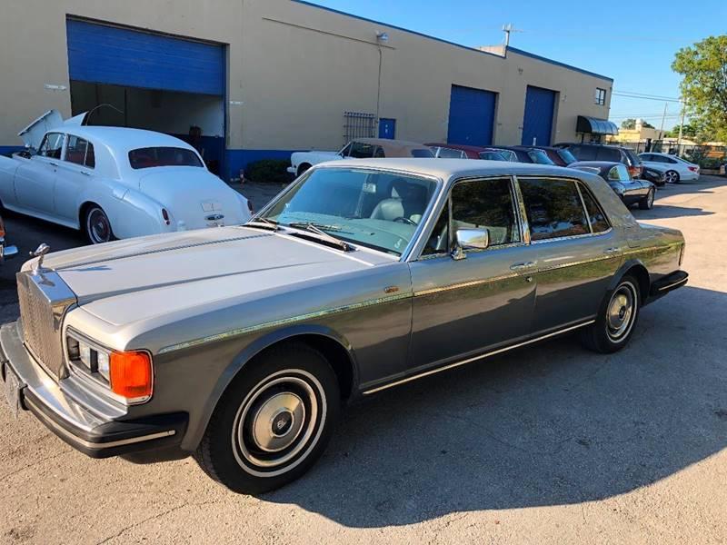 1982 Rolls Royce Silver Spur In Fort Lauderdale Fl Prestigious