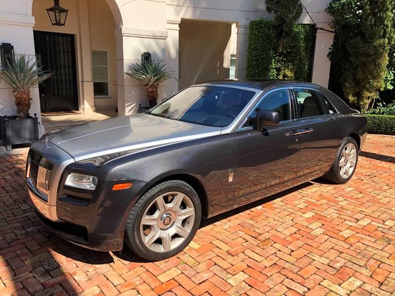 2012 Rolls-Royce Ghost 4dr Sedan - Fort Lauderdale FL