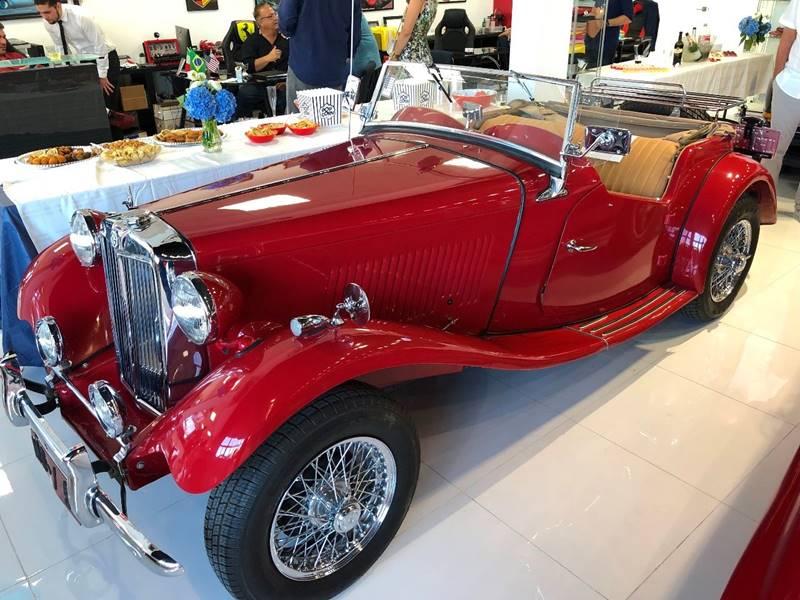 1954 MG TD MG TD - Fort Lauderdale FL