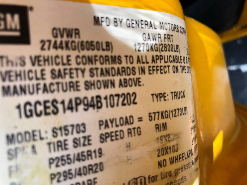 2004 Chevrolet SSR 2dr Regular Cab Convertible LS Rwd SB - Fort Lauderdale FL